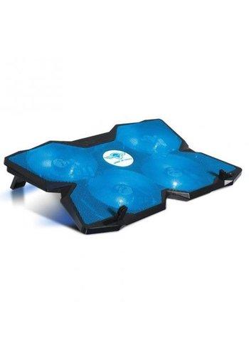 Spirit of Gamer Tapis de refroidissement pour ordinateur portable - Cooler Blade 500 - jusqu'à 17 pouces - Bleu