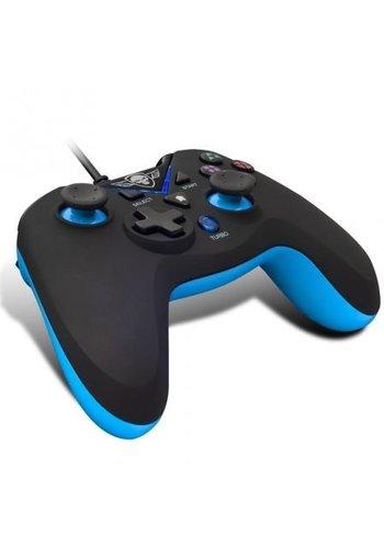 Spirit of Gamer Manette filaire XGP - PC - PS3 - Noir avec Bleu
