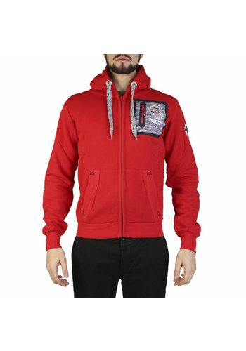 Geographical Norway Heren vest rood
