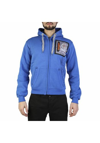 Geographical Norway Gilet homme bleu