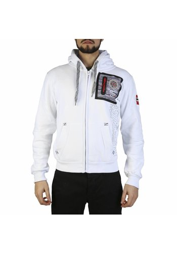 Geographical Norway Gilet homme blanc