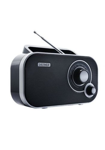Denver Electronics FM Radio - Zwart -TR-54