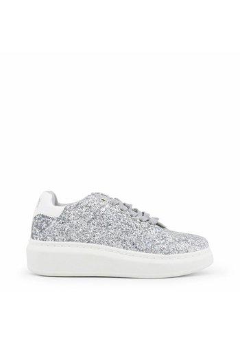 Xti Sneaker femme paillettes argent