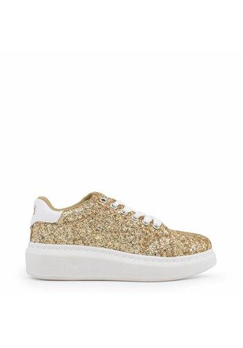 Xti Sneaker femme paillettes or
