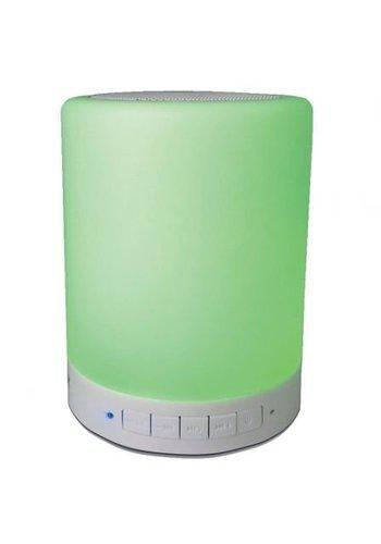Denver Electronics haut-parleur Bluetooth effets de lumière intégrés