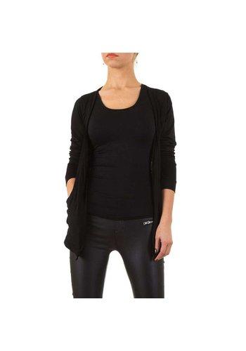 USCO Dames vest zwart