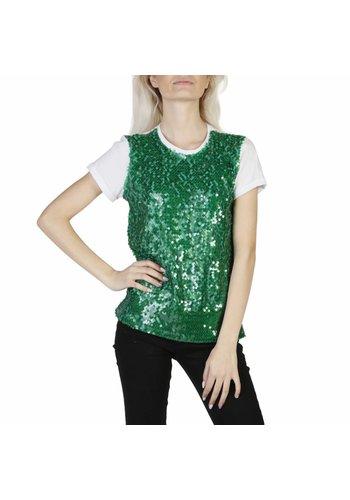 Imperial Tee shirt femme vert pailleté