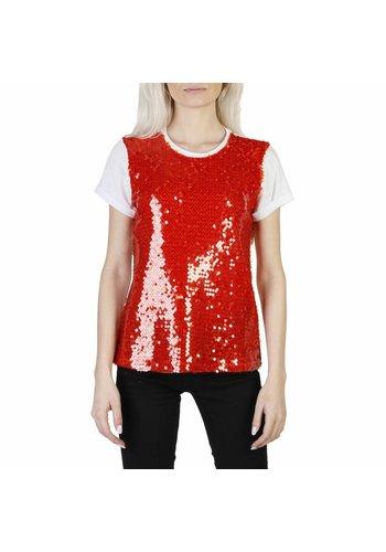 Imperial Damen T-Shirt Glitter rot