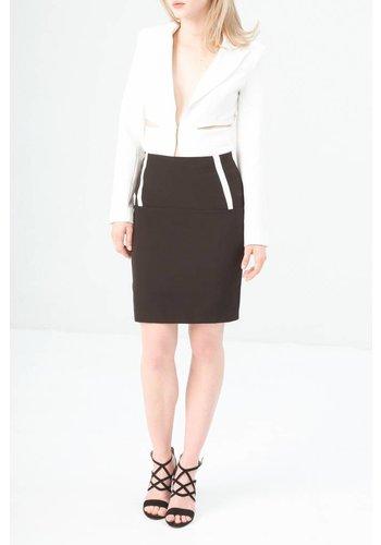 Fontana 2.0 Dames rok gevoerd zwart