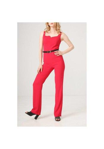 Fontana 2.0 Dames jumpsuit/broekpak - rood
