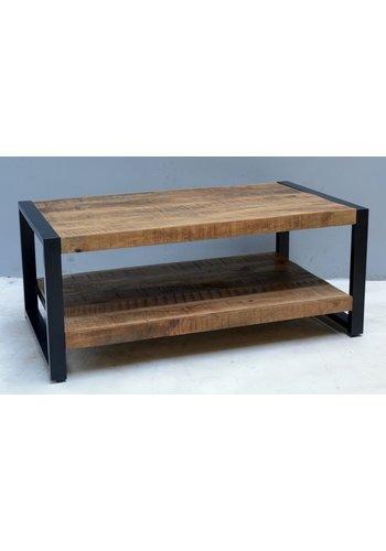 Neckermann Table basse - bois de manguier - 60x45x110 cm