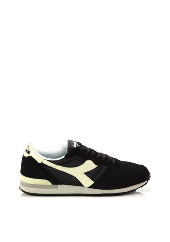 Diadora Unisex-Sneaker schwarz / gelb