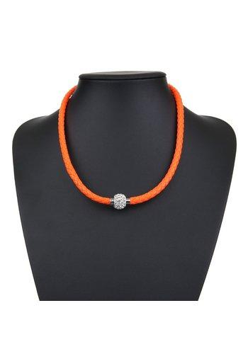 Neckermann Damenhalskette orange