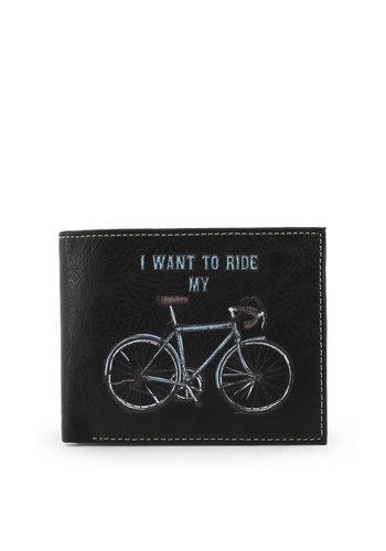 Carrera Jeans Brieftasche schwarzes Fahrrad