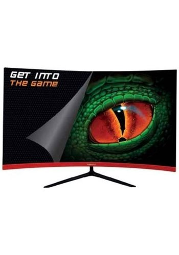 KEEP OUT Geschwungener 27-Zoll-Gaming-Monitor in Full HD
