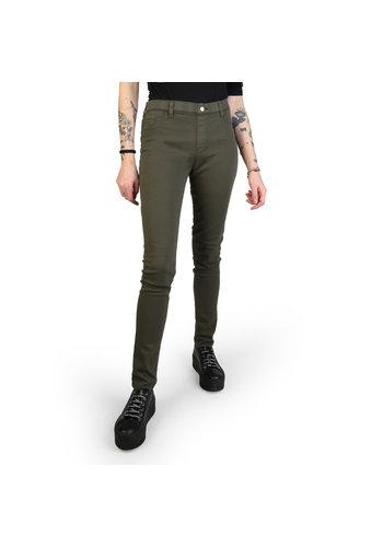Carrera Jeans Pantalon femme vert armée