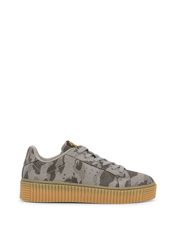 Xti Chaussure femme camouflage marron