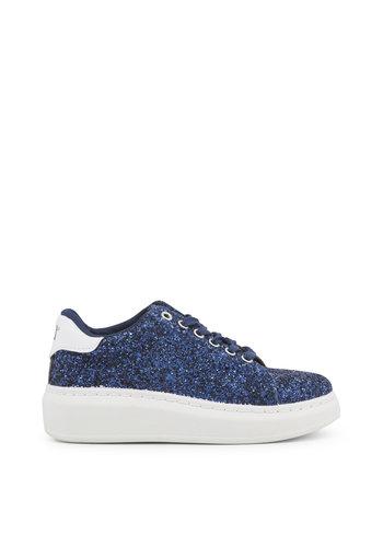 Xti Chaussure femme bleu scintillant