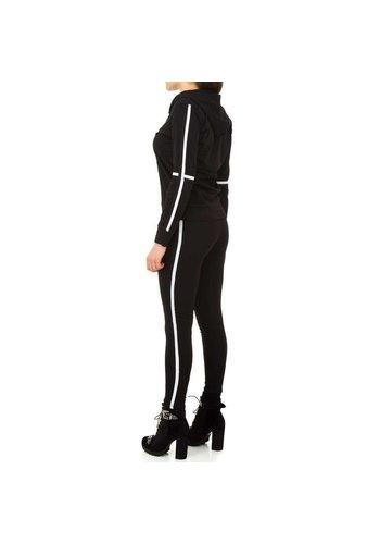 HOLALA Maison de dames / costume de loisirs - noir