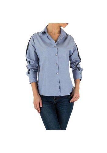 Neckermann Damenhemd von Emmash - blau