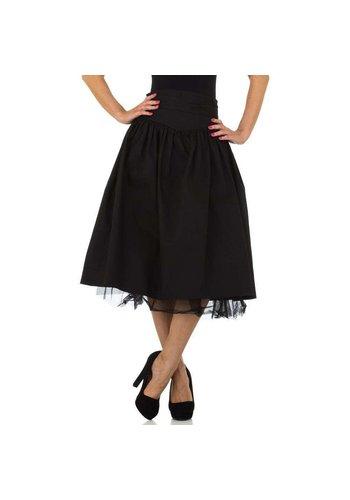 JCL Dames rok zwart