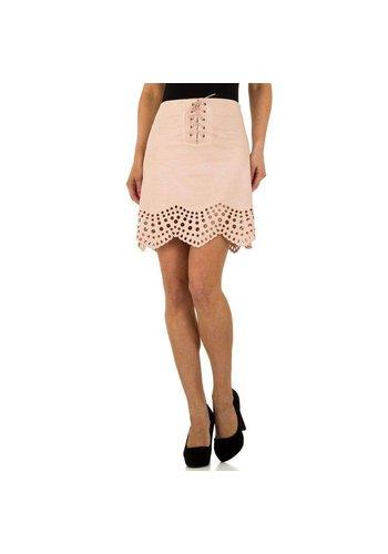 JCL Dames rok licht roze