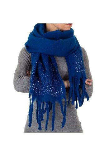Neckermann Damessjaal royal blauw