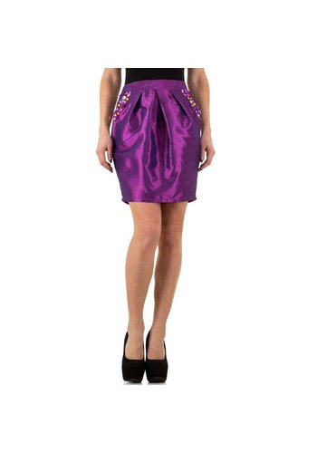 USCO Damenrock glänzend lila