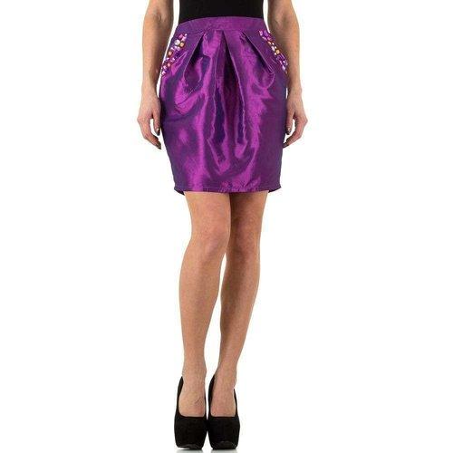 USCO Jupe femme violet brillant