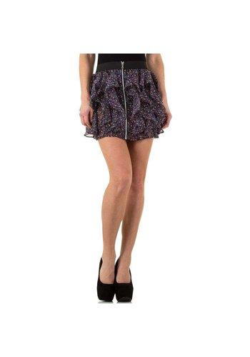 USCO Dames rok kort multi kleur