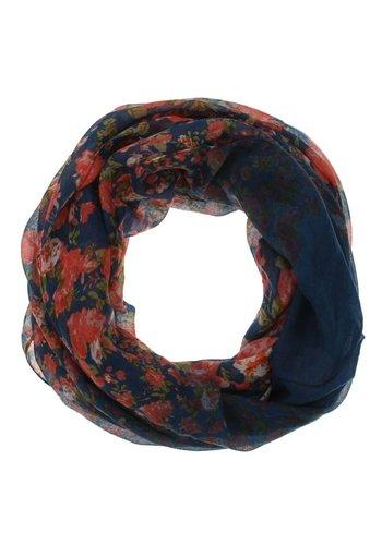 Neckermann Dames sjaal Gr. one size - koraal gewerkt