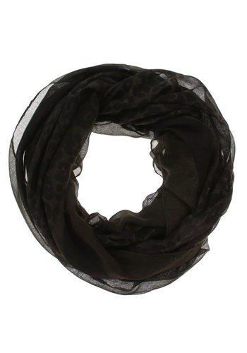 Neckermann Dames sjaal Gr. één maat - donkergroen