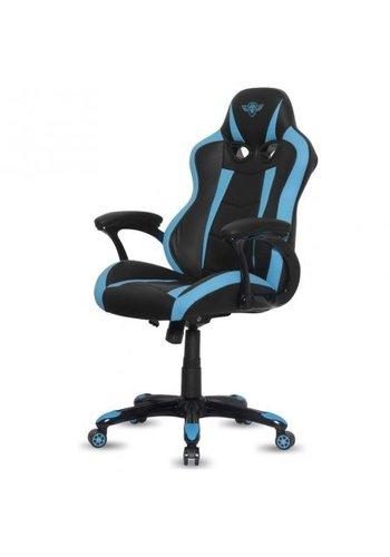 Spirit of Gamer Fighter Gaming Stoel - Blauw