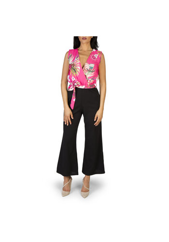 Fontana 2.0 Dames jumpsuit/broekpak zwart/roze