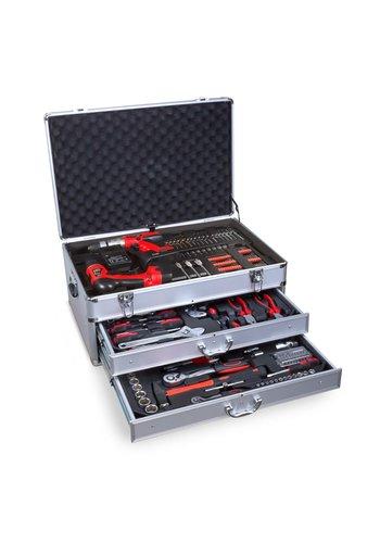 Neckermann Mallette à outils - 206 pièces