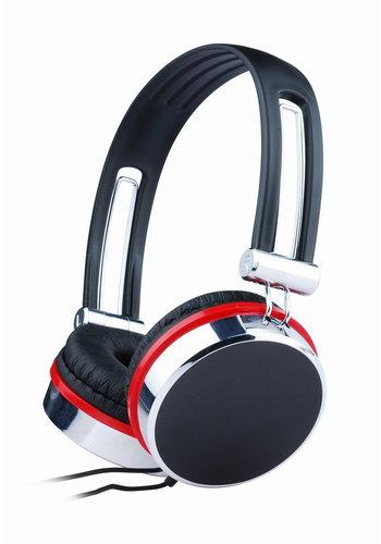 Gembird Hoofdtelefoon zwart-rood