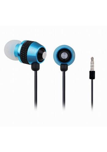Gembird In-Ear-Ohrhörer mit Mikrofon 'Turquoise'