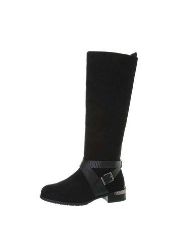 Neckermann Dames Klassieke Laarzen Zwart