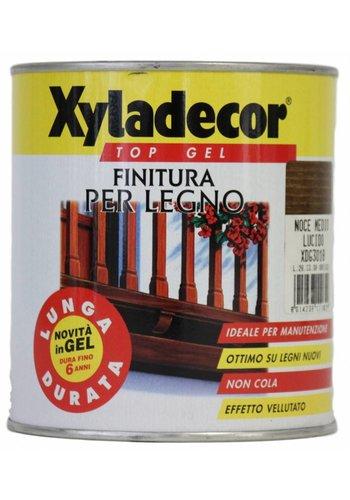 Xyladecor Top Gel für Holz - Walnuss - 750 ml