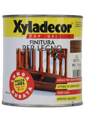 Xyladecor Gel supérieur pour bois - noyer clair - 2,5 L