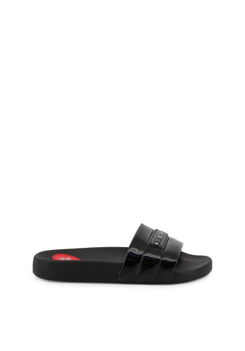 Love Moschino Dames slipper zwart Love moschino
