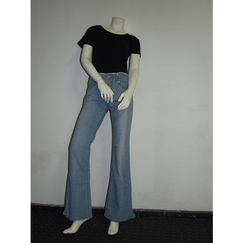 E.A.Jeans Jeans femme avec braguette boutonnée