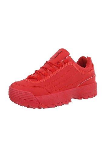 Neckermann Dames sportschoenen rood