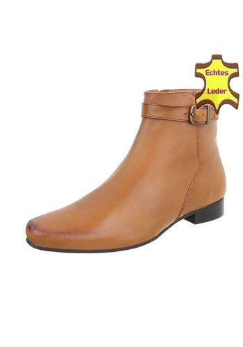 Neckermann Heren schoenen leer bruin