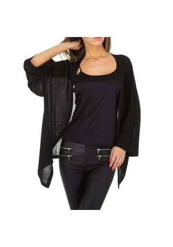 JCL Dames vest van JCL - zwart