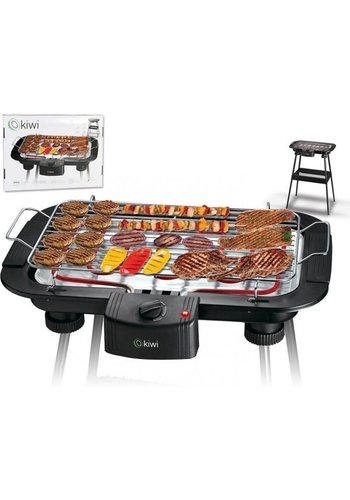Kiwi Elektrische Barbecue - 2000W - 38x22 cm
