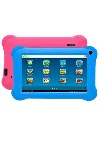Denver Electronics Kindertablett BLUE / PINK 9 Zoll Quad Core mit KIDO'Z-Software