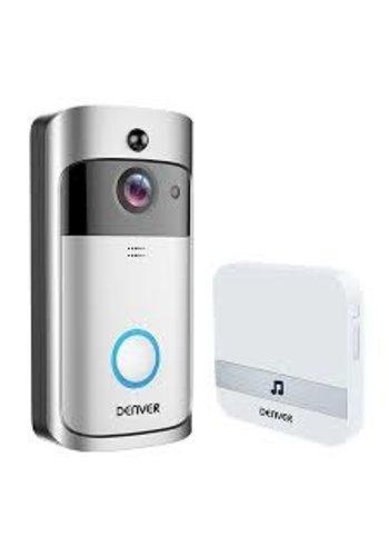Denver Electronics Sonnette de visiophone avec caméra et fonction WLAN VDB-110
