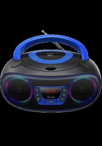 Denver Electronics Boombox avec Bluetooth bleu