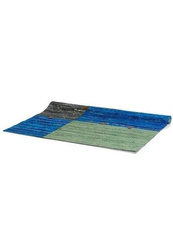 Neckermann Vloerkleed - Tapijt 'Patch' blauw 160x230 cm